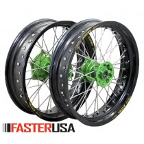 Kawasaki Supermoto Wheelset FasterUSA / Excel KX/KXF