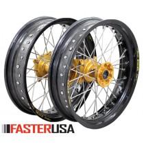 Suzuki Supermoto Wheelset FasterUSA / Excel RMZ