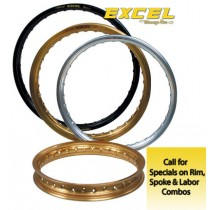 Excel Rims Takasago Yamaha Rear (Choose size for price)