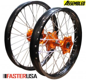 KTM WHEELSET FASTERUSA DID STX READY BUILT