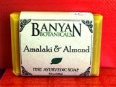 Banyan Botanicals Amalaki and Almond Soap