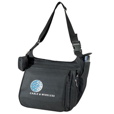 NA7242 Expandable Messenger Brief Bag