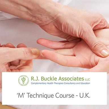 'M' Technique Course OCT 2016-Birmingham, UK