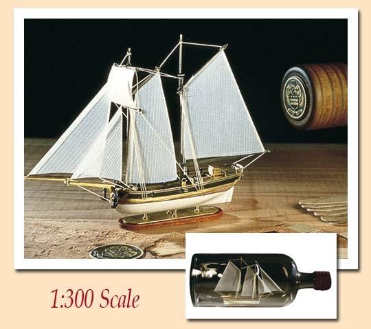 Hannah Ship-in-a-Bottle Kit - Amati kit AM1355