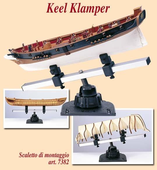 AM7382 Amati Keel Klamper