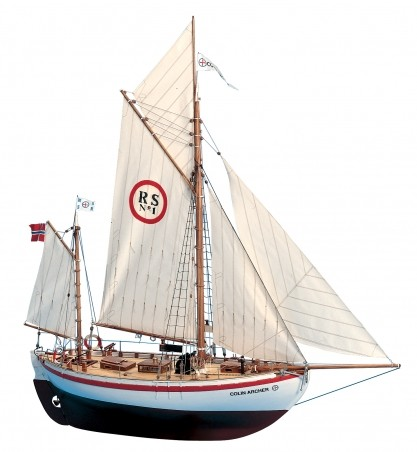 Colin Archer (New Version) wooden ship model kit - Billing Boats BB728