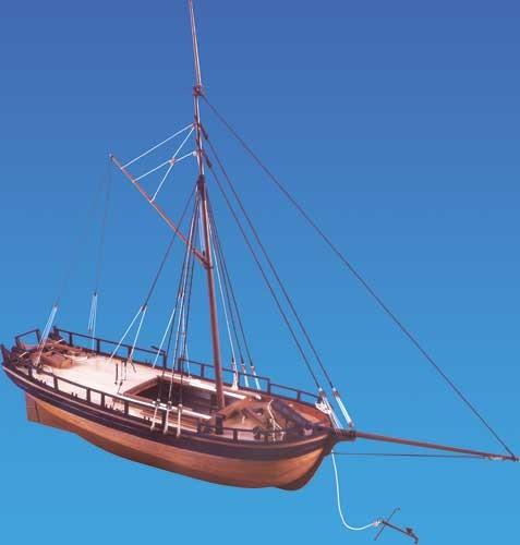 Caldercraft Gunboat William