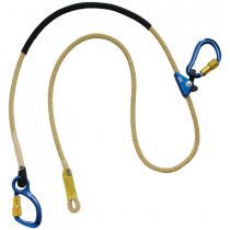 Pole Climber's Adjustable Rope Positioning Lanyard - For Electrical/Hot Work Use, 8 ft. (#1234083)