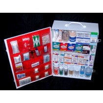 First Aid Cabinet, 4-shelf, filled (#701MTMT)
