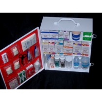 First Aid Cabinet, 3-shelf, no tablets (#712MTMNT)