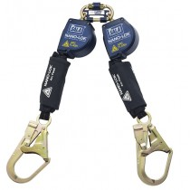 Nano-Lok™ Arc Flash Twin-Leg Quick Connect Self Retracting Lifeline - Web (#3101536)