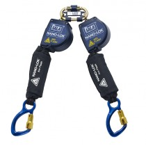 Nano-Lok™ Arc Flash Twin-Leg Quick Connect Self Retracting Lifeline - Web (#3101538)