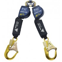 Nano-Lok™ Arc Flash Twin-Leg Quick Connect Self Retracting Lifeline - Web (#3101539)