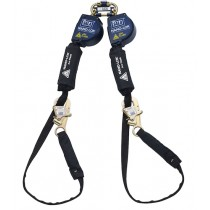 Nano-Lok™ Arc Flash Tie-Back Twin-Leg Quick Connect Self Retracting Lifeline - Web (#3101565)
