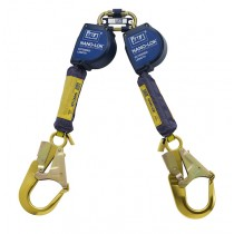 Nano-Lok™ Extended Length Twin-Leg Quick Connect Self Retracting Lifeline - Web (#3101625)