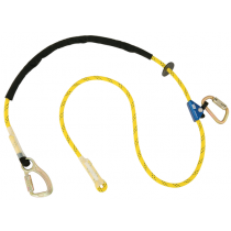 Pole Climber's Adjustable Rope Positioning Lanyard, 8 ft. (#1234081)