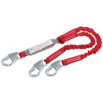 PRO™ Pack Elastic 100% Tie-Off Shock Absorbing Lanyard (#1342101)