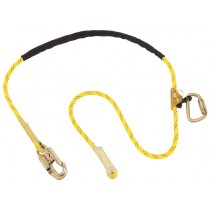 Pole Climber's Adjustable Rope Positioning Lanyard, 8 ft. (#1234070)