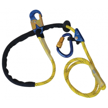 Pole Climber's Adjustable Rope Positioning Lanyard, 8 ft. (#1234071)