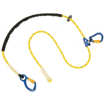 Pole Climber's Adjustable Rope Positioning Lanyard, 8 ft. (#1234080)
