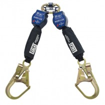 Nano-Lok™ Twin-Leg Quick Connect Self Retracting Lifeline - Web - For Hot Work Use (#3101501)