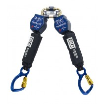 Nano-Lok™ Twin-Leg Quick Connect Self Retracting Lifeline - Web - For Hot Work Use (#3101503)