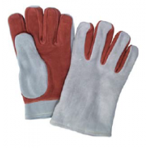 Leather Heat Resistant Gloves, 2-ply