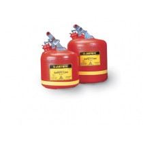 Justrite Type I Poly Safety Can, 2.5 gallon (#14261)