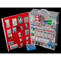 First Aid Cabinet, 4-shelf, no tablets (#701MTMNT)