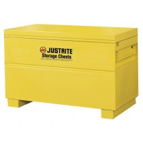 "Safesite Flammable Tool Storage Chest For Jobsite, Dims. 31-1/8""H x 48""W x 24""D (#16030Y)"