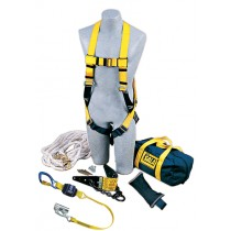 Roofer's Fall Protection Kit - Heavy-Duty Anchor (#2104168)