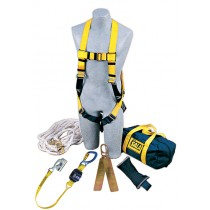 Roofer's Fall Protection Kit - Hinged Anchor (#2104169)