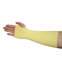 """Double Ply Kevlar® Sleeve with Thumbhole, 12"""" (#2512KT)"""