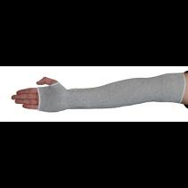 "18"" HPPE Sleeve, ANSI 4, 1 Layer, Dark Gray w/Thumbhole (#2518DGT4)"