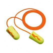 3M E-A-Rsoft Yellow Neon Blasts Earplugs, corded (#311-1252)