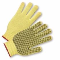 PVC Dotted on One Side 100% Kevlar Gloves, Men's (#35KD)