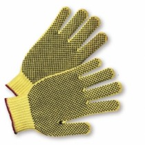 PVC Dotted on Both Sides 100% Kevlar Gloves, Women's (#35KDBSL)