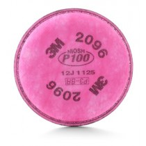 3M™ Particulate Filter (P100 Filter with Nuisance Level Acid Gas Relief) (#2096)