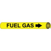 Fuel Gas Precoiled Pipe Marker (#4045N)