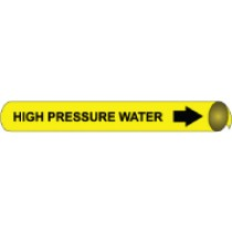 High Pressure Water Precoiled Pipe Marker (#4060N)