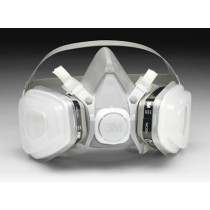 3M™ Half Facepiece Disposable Respirator Assembly (organic vapor with P95, medium) (#52P71)