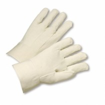 Standard Weight Cotton Canvas Band Top Gloves (#708BT)