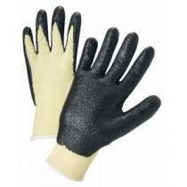 Nitrile Coated Kevlar Gloves (#713KSNF)