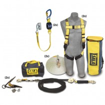 2 Person Roofer's Fall Protection Kit - HLL System (#7611907)