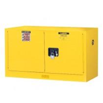 Sure-Grip EX Piggyback Flammable Safety Cabinet, 1 Shelf, Self-Close Doors, 17 Gallon Cap. (#891720)