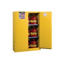 Sure-Grip EX Flammable Safety Cabinet/Can Package, 2 Shelf, Manual Doors, 45 Gallon Cap. (#8945008)