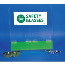 Double Safety Glasses Dispenser (#ASG-3)