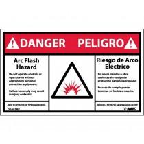 Arc Flash Danger Label (#DGA62AP)