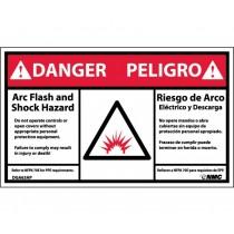 Arc Flash Danger Label (#DGA63AP)