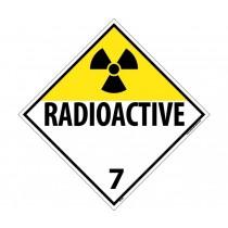 Radioactive Class 7 DOT Placard (#DL16)
